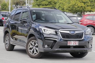 2020 Subaru Forester S5 MY20 2.5i-L CVT AWD Crystal Black 7 Speed Constant Variable Wagon.
