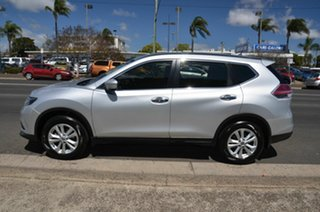 2016 Nissan X-Trail T32 ST (FWD) Silver Continuous Variable Wagon.