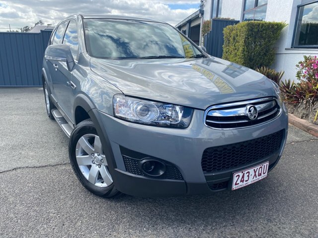 Used Holden Captiva CG Series II 7 SX, 2012 Holden Captiva CG Series II 7 SX Grey 6 Speed Sports Automatic Wagon