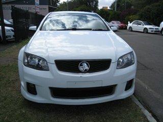 2012 Holden Commodore VE II MY12 SV6 White 6 Speed Automatic Sedan.