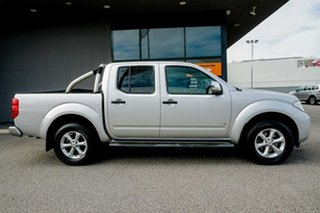 2012 Nissan Navara D40 S5 MY12 ST-X 550 Silver 7 Speed Sports Automatic Utility.