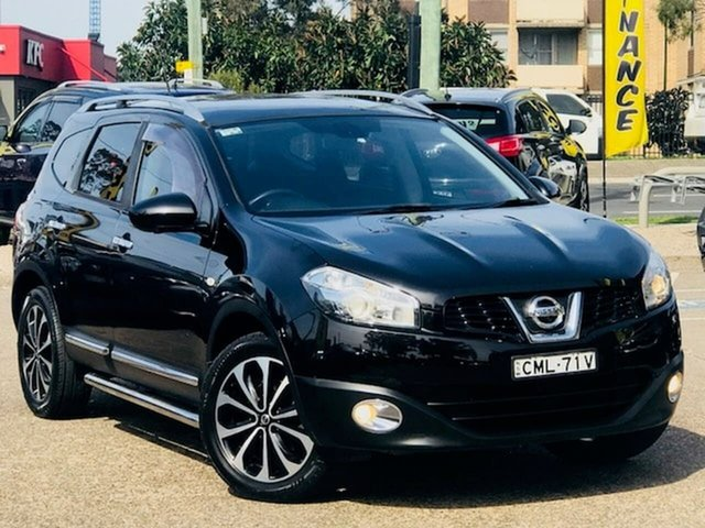 Used Nissan Dualis J107 Series 4 MY13 +2 Hatch X-tronic 2WD Ti-L, 2013 Nissan Dualis J107 Series 4 MY13 +2 Hatch X-tronic 2WD Ti-L Black 6 Speed Constant Variable