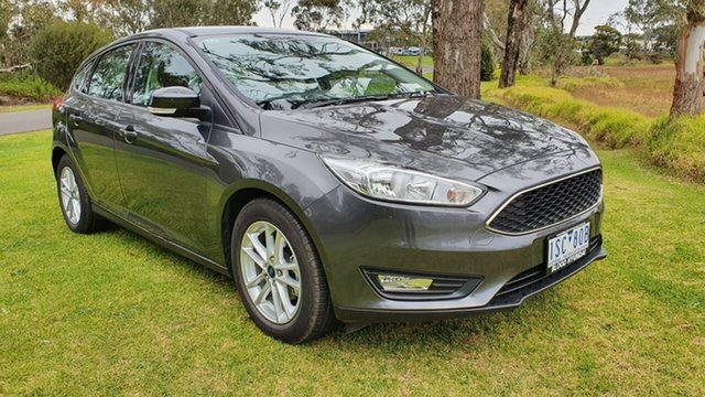 Used Ford Focus LZ Trend, 2017 Ford Focus LZ Trend Grey Automatic Hatchback