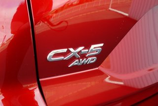 2018 Mazda CX-5 KF4WLA Maxx SKYACTIV-Drive i-ACTIV AWD Sport Red 6 Speed Sports Automatic Wagon