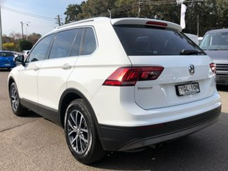 2016 Volkswagen Tiguan 5N MY16 132TSI DSG 4MOTION White 7 Speed Sports Automatic Dual Clutch Wagon