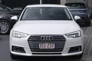 2016 Audi A4 B9 8W MY17 Sport S Tronic White 7 Speed Sports Automatic Dual Clutch Sedan