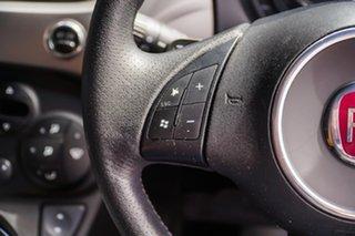 2012 Fiat 500 Series 1 MY12 Blue 5 Speed Manual Hatchback