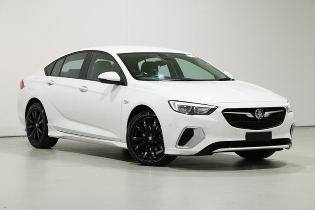 Used Holden Commodore ZB RS Bentley, 2018 Holden Commodore ZB RS White 9 Speed Automatic Liftback