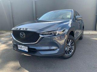 2020 Mazda CX-5 KF4WLA Maxx SKYACTIV-Drive i-ACTIV AWD Sport Polymetal Grey 6 Speed Sports Automatic.