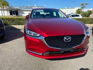 2020 Mazda 6 Soul Red Crystal.