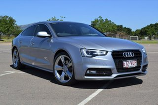 2015 Audi A5 8T MY16 Sportback Multitronic Grey 8 Speed Constant Variable Hatchback.