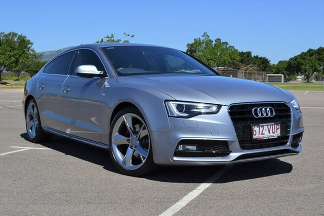Used Audi A5 8T MY16 Sportback Multitronic, 2015 Audi A5 8T MY16 Sportback Multitronic Grey 8 Speed Constant Variable Hatchback