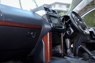2017 Toyota Landcruiser Prado VX Silver Metallic Automatic.