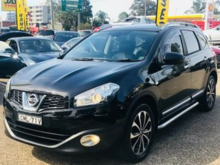 2013 Nissan Dualis J107 Series 4 MY13 +2 Hatch X-tronic 2WD Ti-L Black 6 Speed Constant Variable.