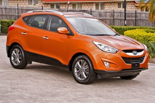 2014 Hyundai ix35 LM3 MY14 Elite AWD Atomic Orange 6 Speed Sports Automatic Wagon.