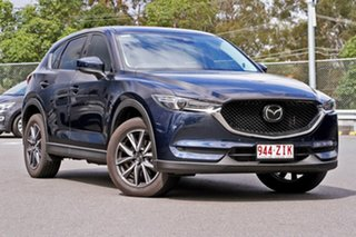 2019 Mazda CX-5 KF4W2A GT SKYACTIV-Drive i-ACTIV AWD Blue 6 Speed Sports Automatic Wagon.