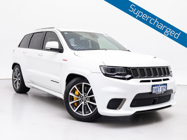 Used Jeep Grand Cherokee WK MY18 Trackhawk (4x4), 2018 Jeep Grand Cherokee WK MY18 Trackhawk (4x4) White 8 Speed Automatic Wagon