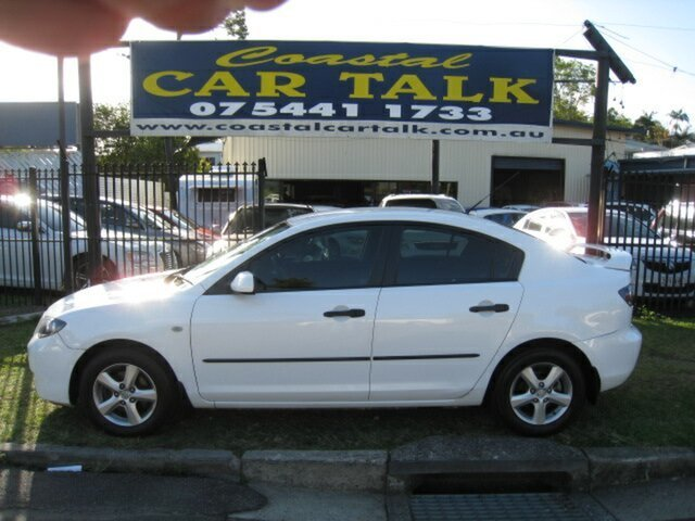 Used Mazda 3 BK MY08 Neo Sport, 2008 Mazda 3 BK MY08 Neo Sport White 4 Speed Auto Activematic Sedan