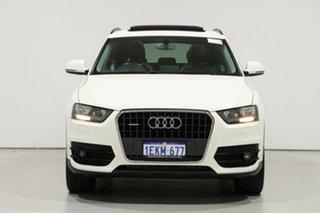 2014 Audi Q3 8U MY14 2.0 TFSI Quattro (125kW) White 7 Speed Auto Dual Clutch Wagon.