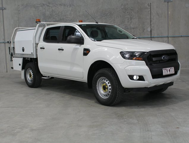 Used Ford Ranger PX MkII XL Hi-Rider, 2016 Ford Ranger PX MkII XL Hi-Rider White 6 speed Automatic