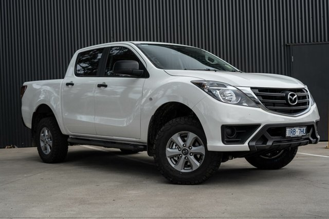 Demo Mazda BT-50 UR0YG1 XT, 2020 Mazda BT-50 UR0YG1 XT Cool White 6 Speed Sports Automatic Utility