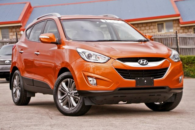 Used Hyundai ix35 LM3 MY14 Elite AWD, 2014 Hyundai ix35 LM3 MY14 Elite AWD Atomic Orange 6 Speed Sports Automatic Wagon