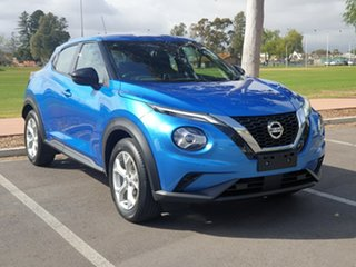 2020 Nissan Juke F16 ST DCT 2WD Vivid Blue 7 Speed Sports Automatic Dual Clutch Hatchback.