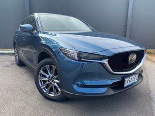 2020 Mazda CX-5 KF4WLA Akera SKYACTIV-Drive i-ACTIV AWD Eternal Blue 6 Speed Sports Automatic Wagon.