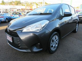 2019 Toyota Yaris NCP130R Ascent Grey 4 Speed Automatic Hatchback.