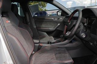 2020 Skoda Kodiaq NS MY21 RS DSG Brilliant Silver 7 Speed Sports Automatic Dual Clutch Wagon