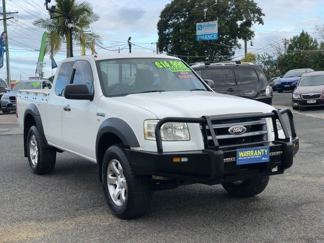 Used Ford Ranger PJ XL Hi-Rider, 2008 Ford Ranger PJ XL Hi-Rider White 5 Speed Manual Pick Up
