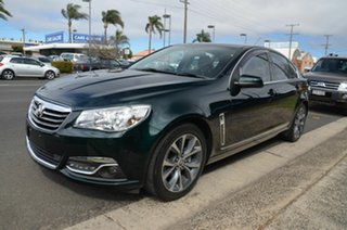 2013 Holden Calais VF V Green 6 Speed Automatic Sedan.