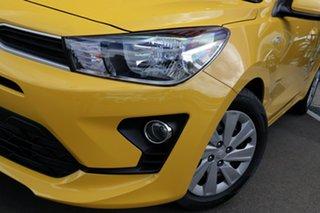 2021 Kia Rio YB MY21 S Mighty Yellow 6 Speed Automatic Hatchback.