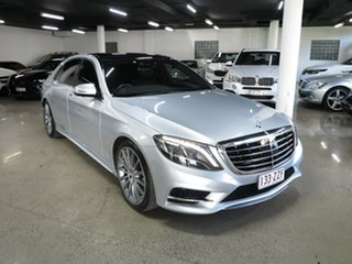 2015 Mercedes-Benz S-Class V222 806MY S400 L 7G-Tronic + Silver 7 Speed Sports Automatic Sedan.