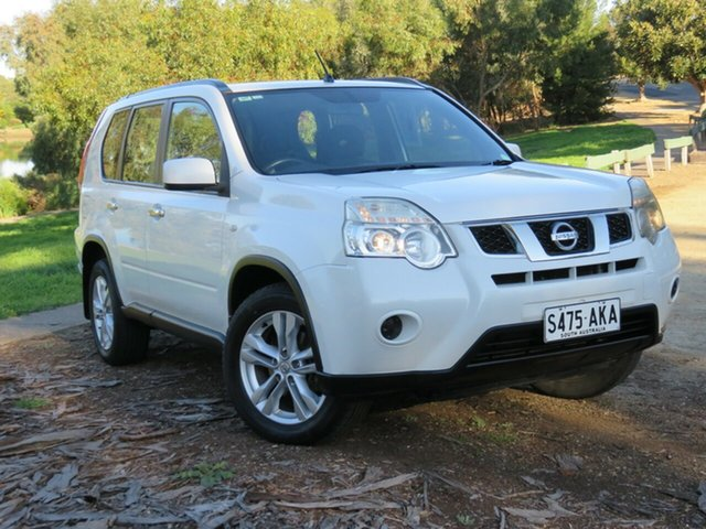 Used Nissan X-Trail T31 Series IV ST 2WD, 2010 Nissan X-Trail T31 Series IV ST 2WD White 6 Speed Manual Wagon