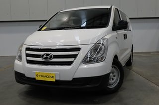 2016 Hyundai iLOAD TQ3-V Series II MY17 Crew Cab White 5 Speed Automatic Van