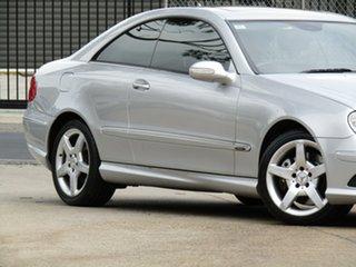 2008 Mercedes-Benz CLK-Class C209 MY08 CLK280 Avantgarde Adventurine Silver 7 Speed Automatic Coupe.
