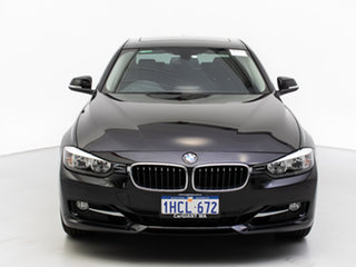2013 BMW 328i F30 MY14 Sport Line Black 8 Speed Automatic Sedan.