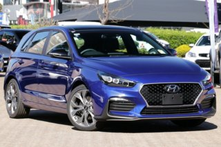 2020 Hyundai i30 PD.3 MY20 N Line Premium Intense Blue 7 Speed Auto Dual Clutch Hatchback.