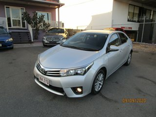 2016 Toyota Corolla ZRE172R Ascent Silver 7 Speed CVT Auto Sequential Sedan.