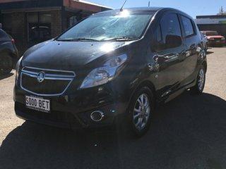 2012 Holden Barina Spark MJ MY13 CD Black 4 Speed Automatic Hatchback
