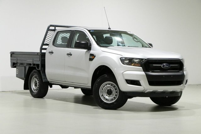 Used Ford Ranger PX MkII MY17 XL 3.2 (4x4), 2017 Ford Ranger PX MkII MY17 XL 3.2 (4x4) Grey 6 Speed Automatic Crew Cab Chassis