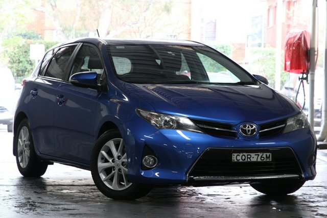 Used Toyota Corolla ZRE182R Ascent Sport, 2014 Toyota Corolla ZRE182R Ascent Sport Tidal Blue 7 Speed CVT Auto Sequential Hatchback