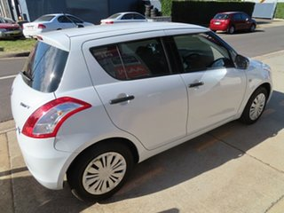 2013 Suzuki Swift GL White 5 Speed Manual Hatchback.