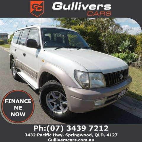Used Toyota Landcruiser Prado  GXL, 2001 Toyota Landcruiser Prado GXL White 4 Speed Automatic Wagon