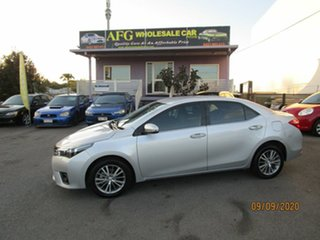2016 Toyota Corolla ZRE172R Ascent Silver 7 Speed CVT Auto Sequential Sedan