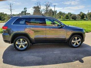 2015 Jeep Grand Cherokee WK Limited Grey Sports Automatic Wagon