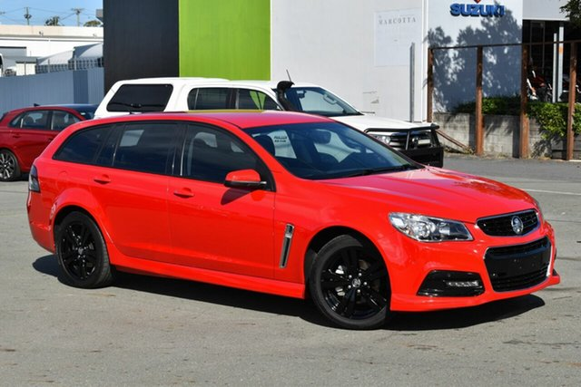 Used Holden Commodore VF MY15 SV6, 2014 Holden Commodore VF MY15 SV6 Red 6 Speed Automatic Sportswagon