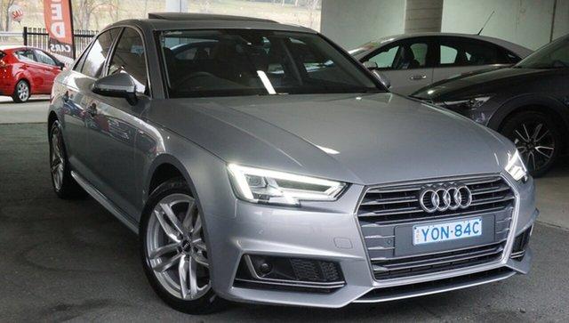 Used Audi A4 B9 8W MY18 S Line S Tronic, 2018 Audi A4 B9 8W MY18 S Line S Tronic Silver 7 Speed Sports Automatic Dual Clutch Sedan
