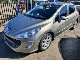 2010 Peugeot 308 T7 XTE Silver 6 Speed Sports Automatic Hatchback.